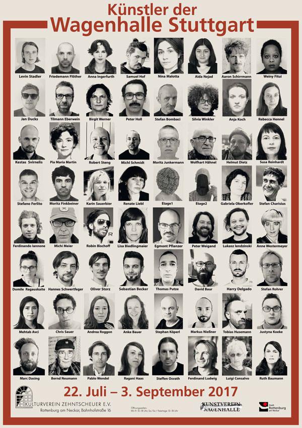 Künstler der Wagenhalle - Gruppenausstellung in Rottenburg