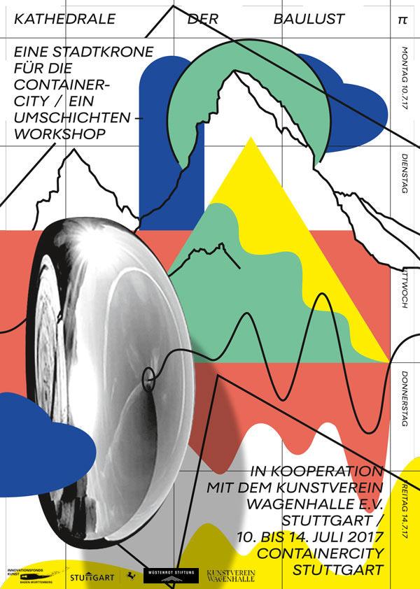 # TAUT - Kathedrale der Baulust - eine Stadtkrone für die Container City