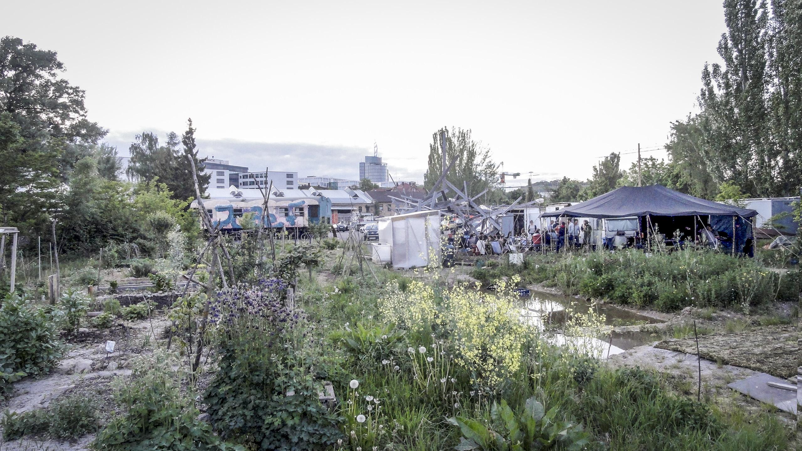 #Container City - Urban-Gardening-Sommercamp
