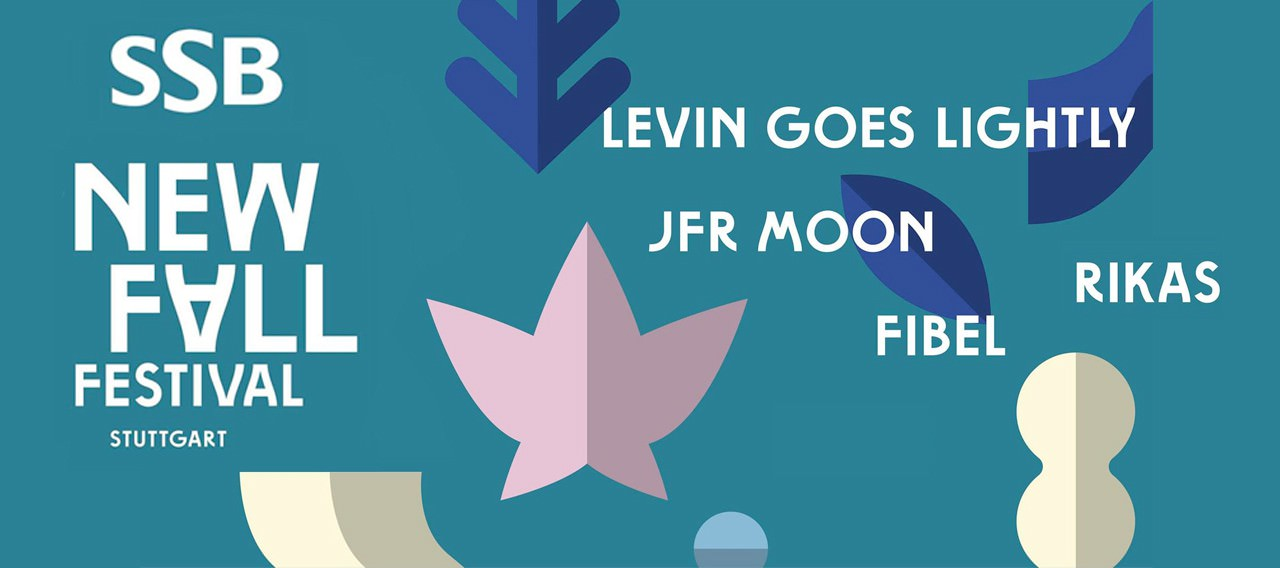 New Fall Festival mit Levin Goes Lightly