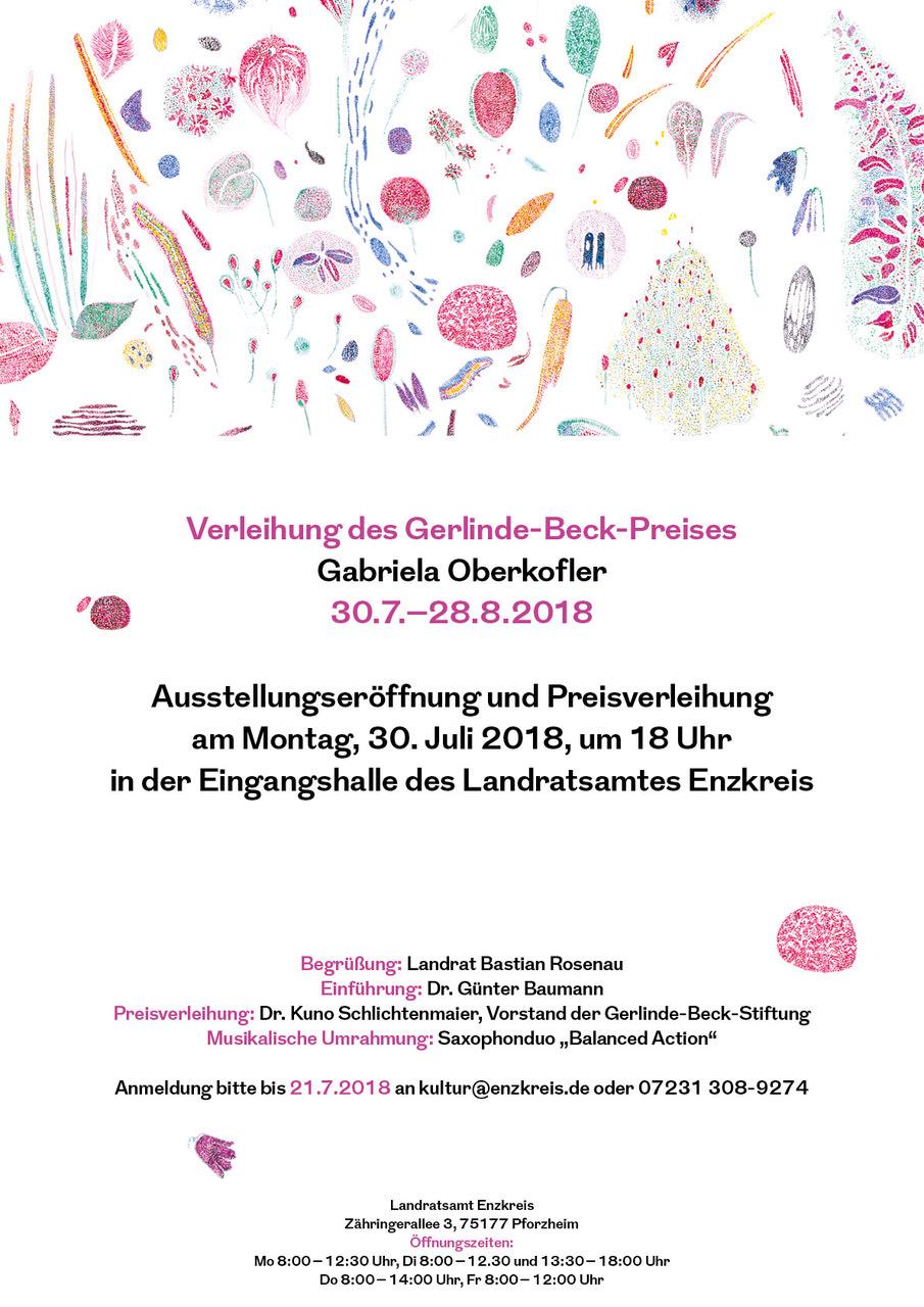 Gabriela Oberkofler - Gerlinde-Beck-Preis