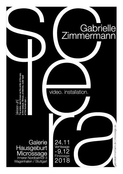 Galerie Hausgeburt - Sclera