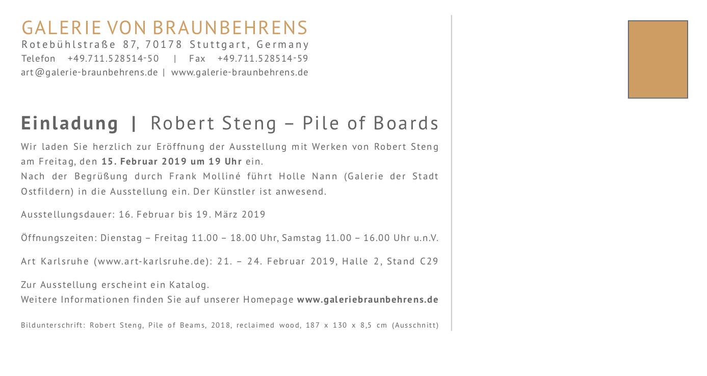 Robert Steng - Pile of Boards