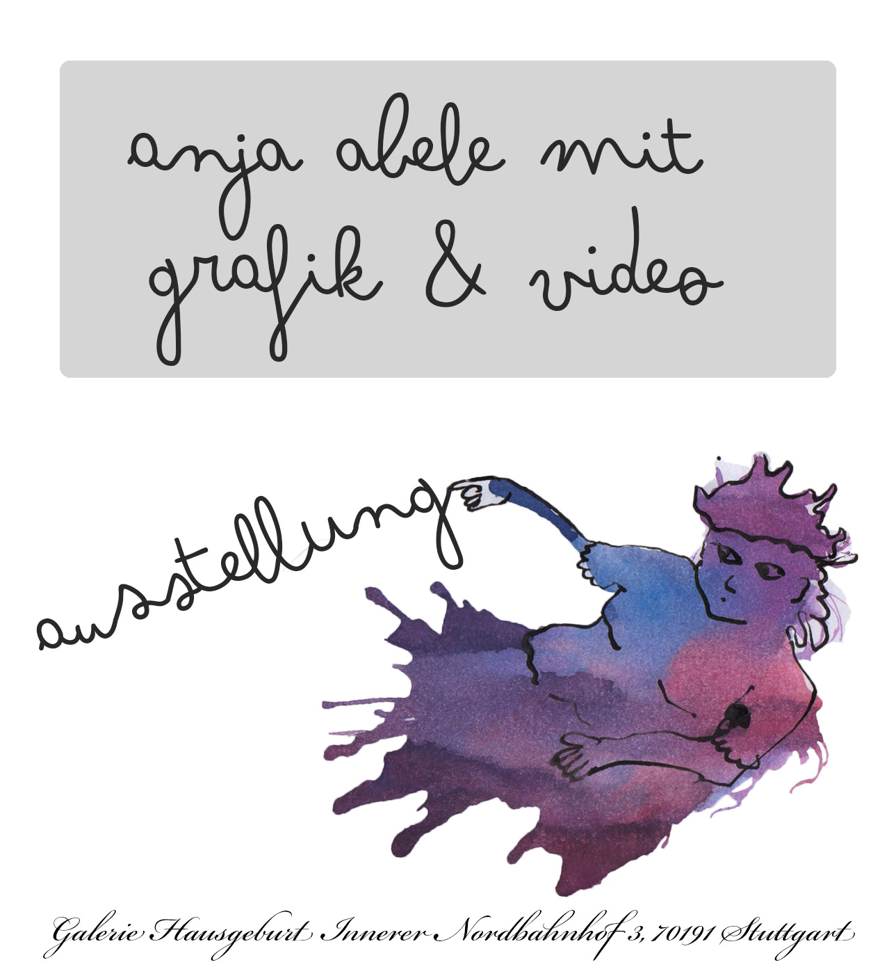 #Galerie Hausgeburt - Anja Abele