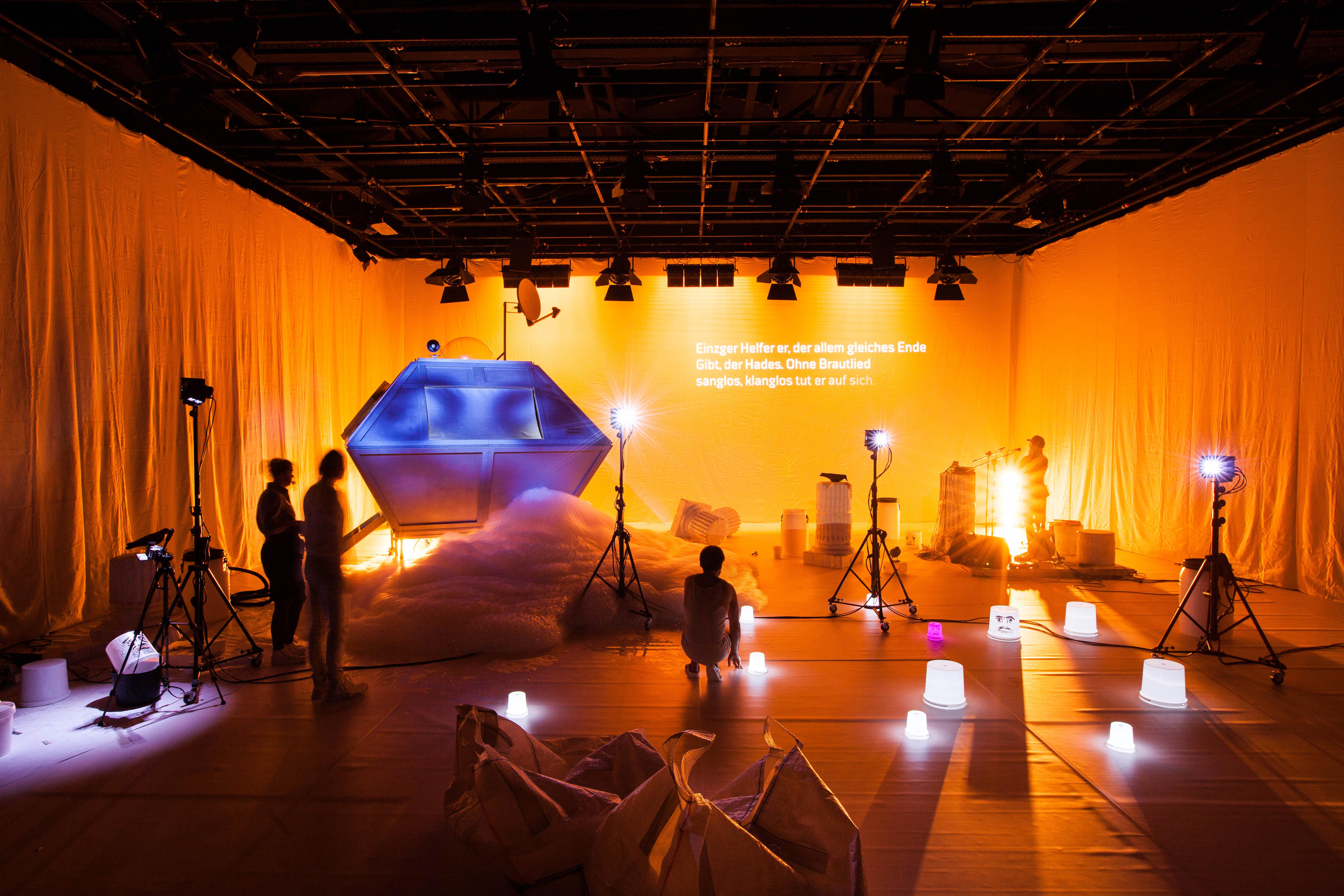 #Projektraum - Dunkle Materie. Notizen zur Blindheit